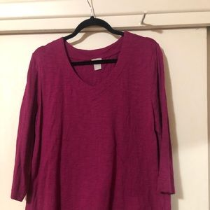 Chico's V neck casual top